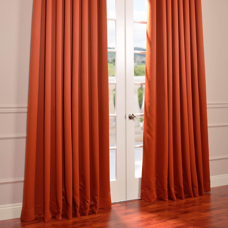 Blaze Grommet Extra Wide Blackout Curtain