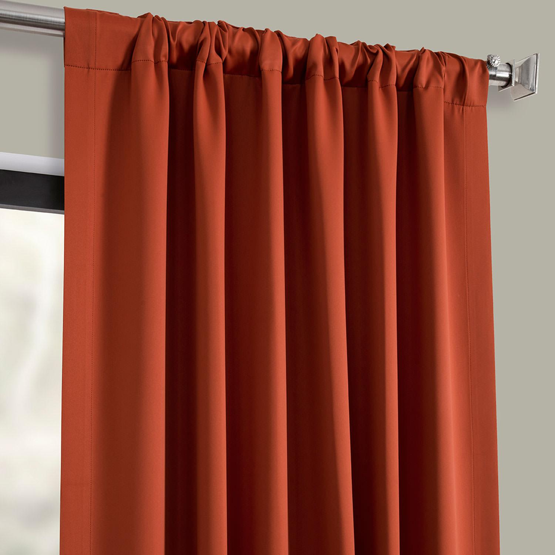 Blaze Blackout Curtain