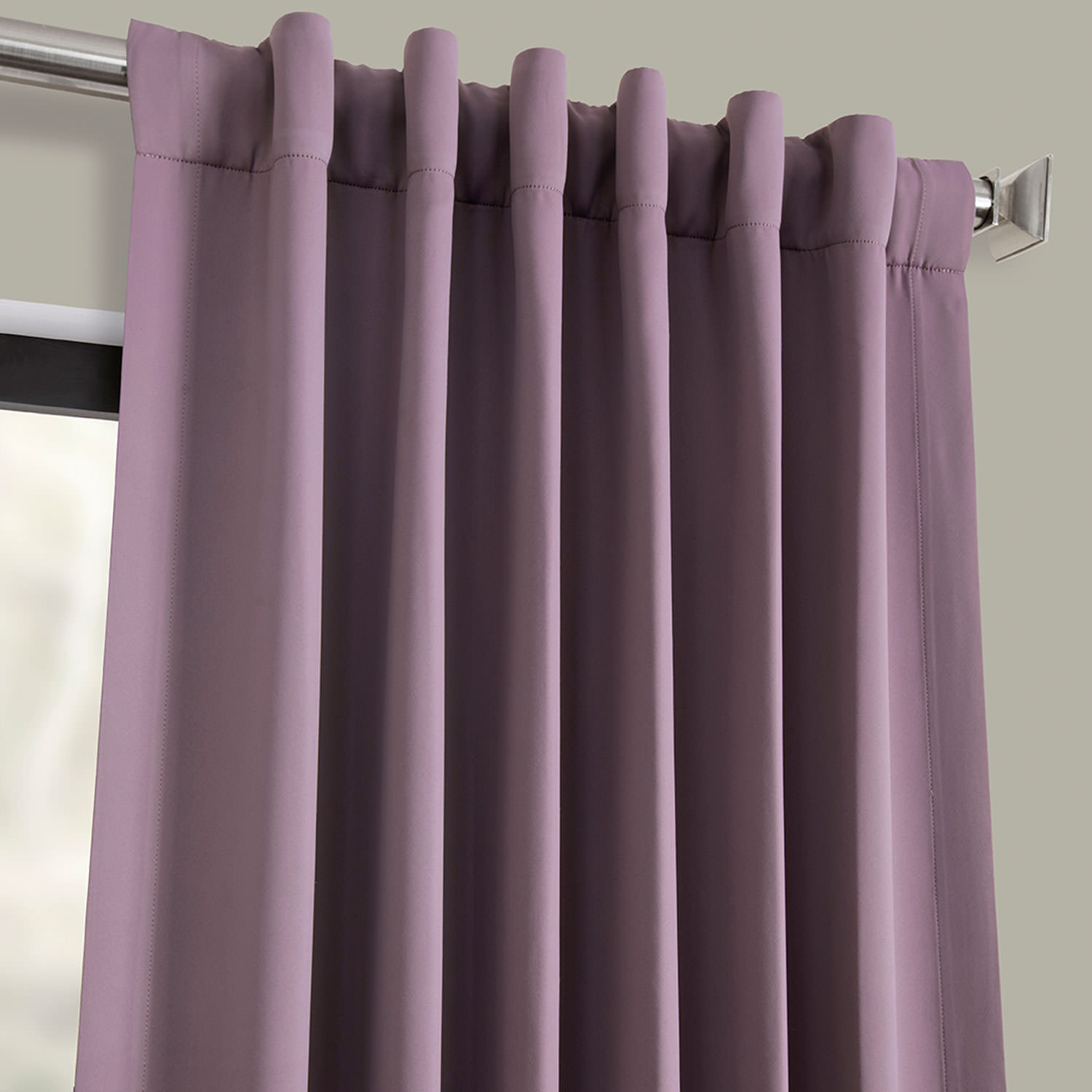 Purple Rain Blackout Curtain