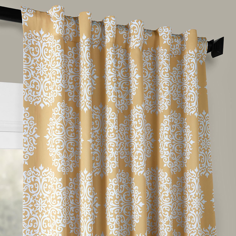 Meridian Gold Blackout Curtain