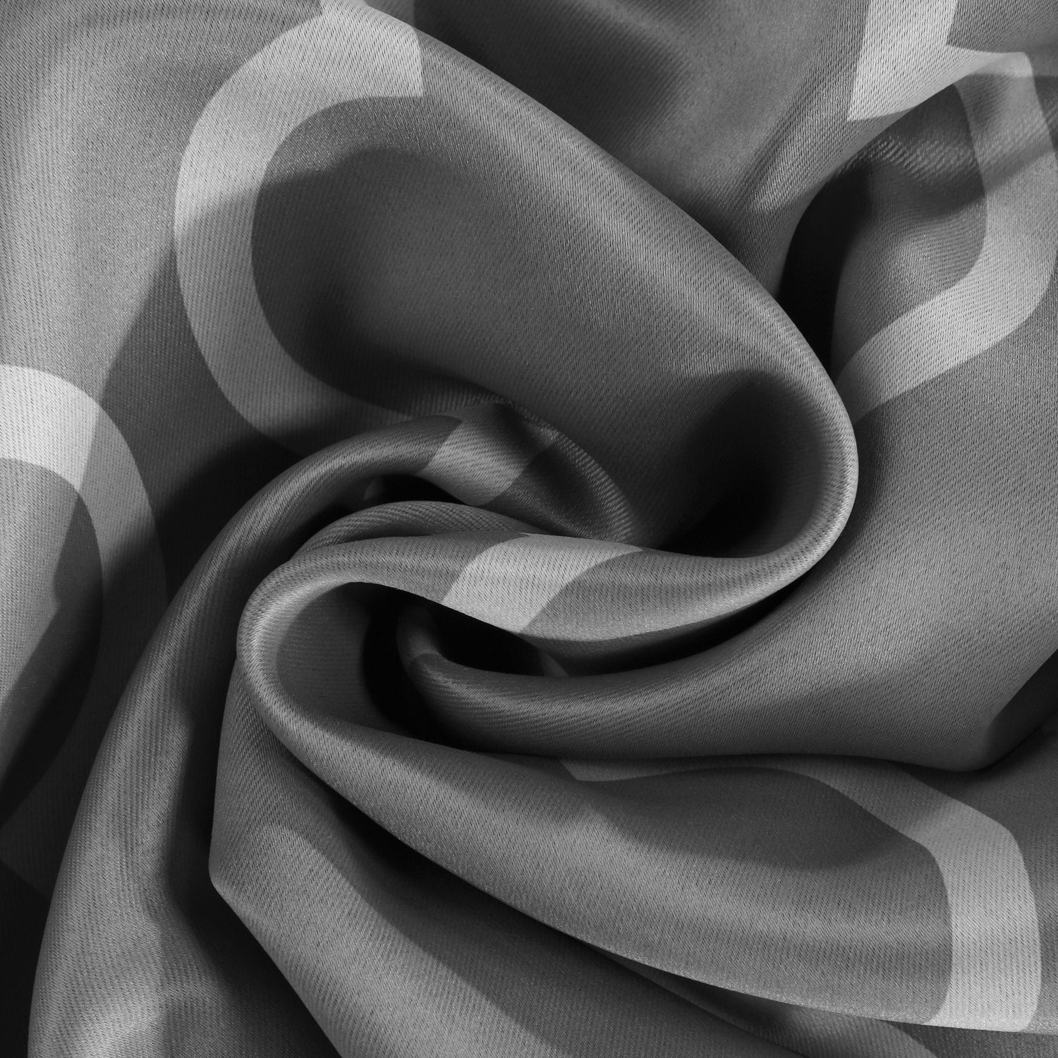 Seville Grey & Silver Blackout Swatch