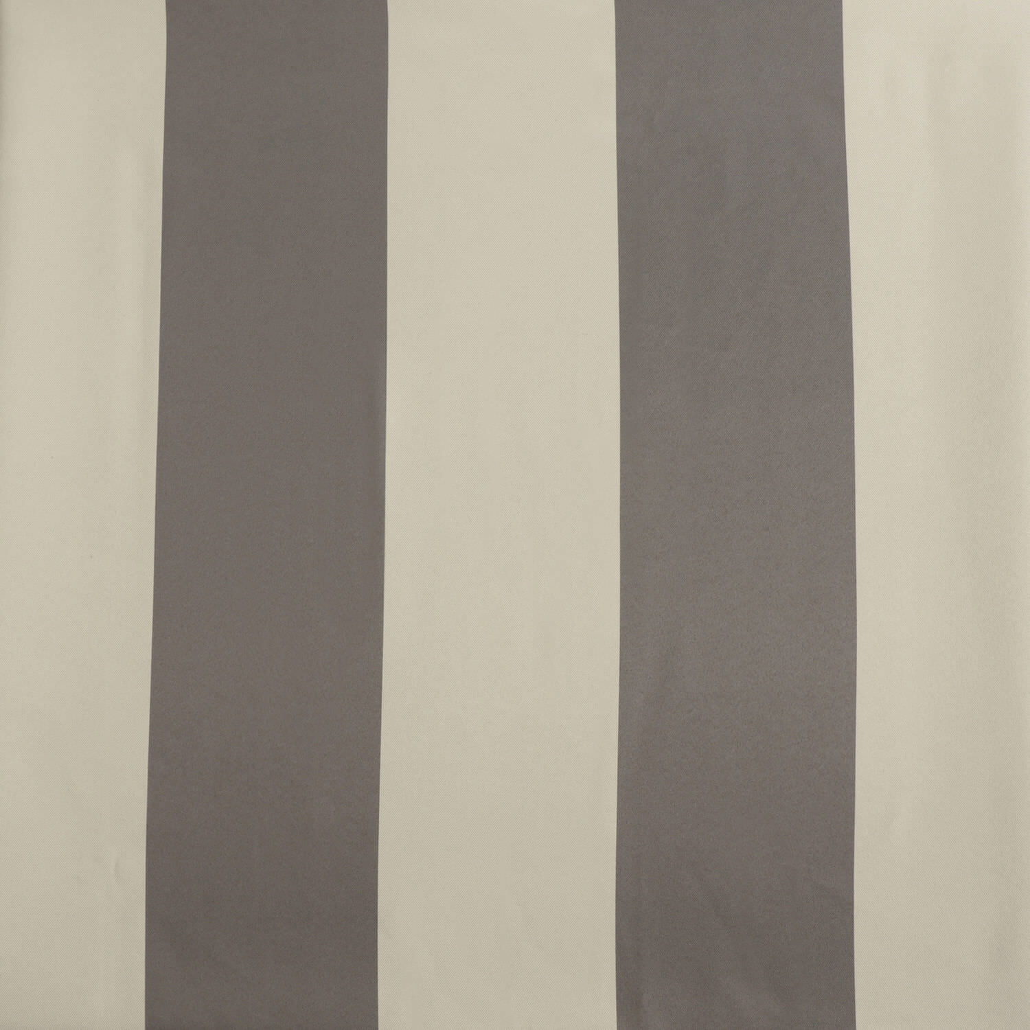 Steel Grey & Cream Striped Blackout Curtain
