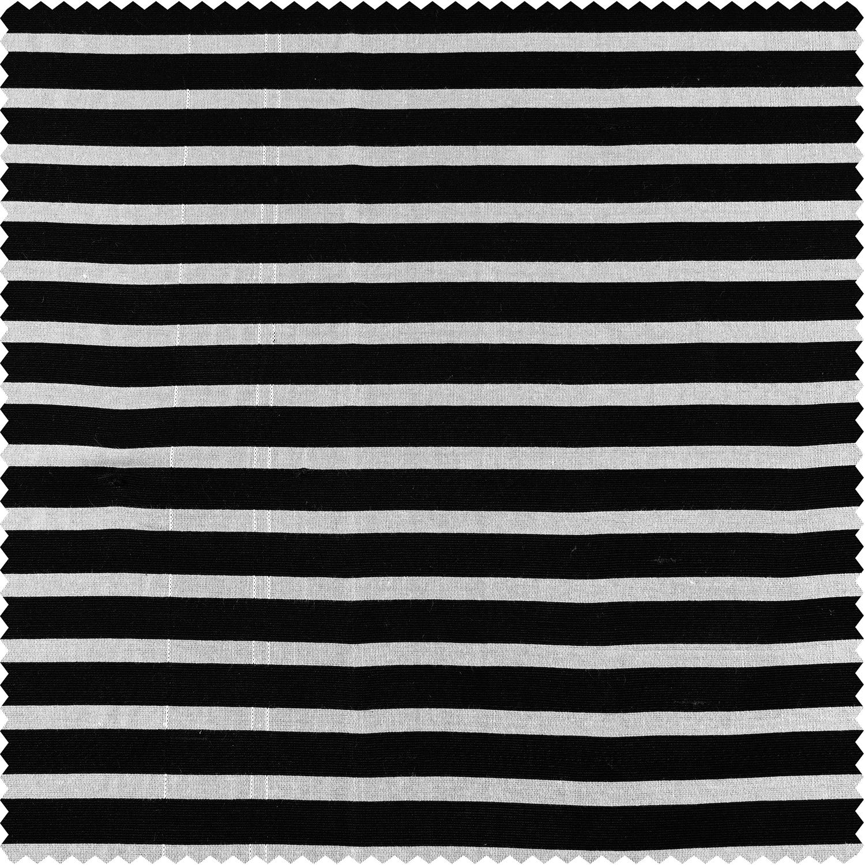 Black & Silver Casual Cotton Fabric
