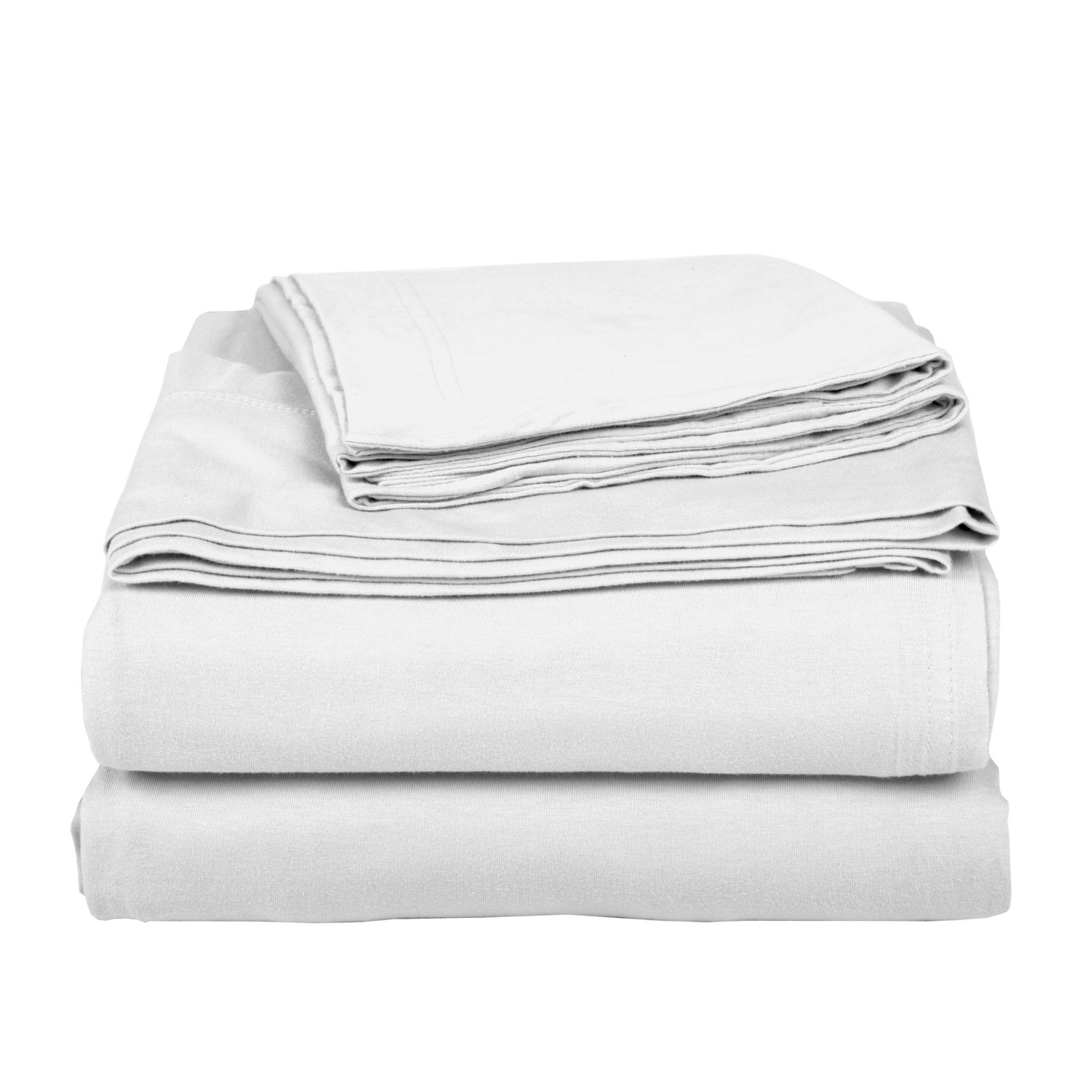 Cotton White Bed Sheet Set
