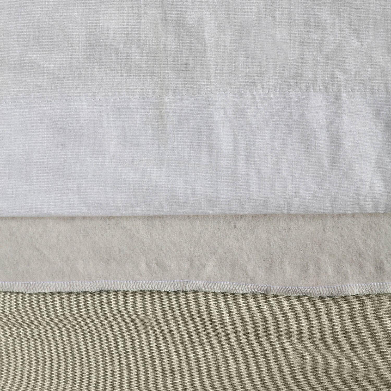 Liquid Silver Cotton Silk Curtain