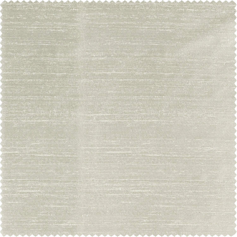 Moon Glow Textured Dupioni Silk Fabric