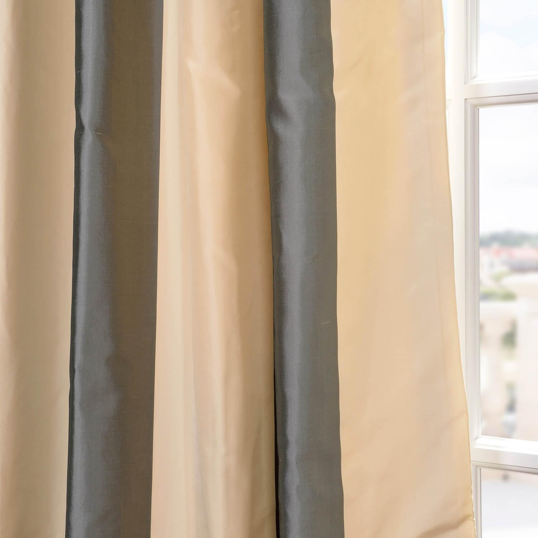 Nob Hill Silk Stripe Fabric
