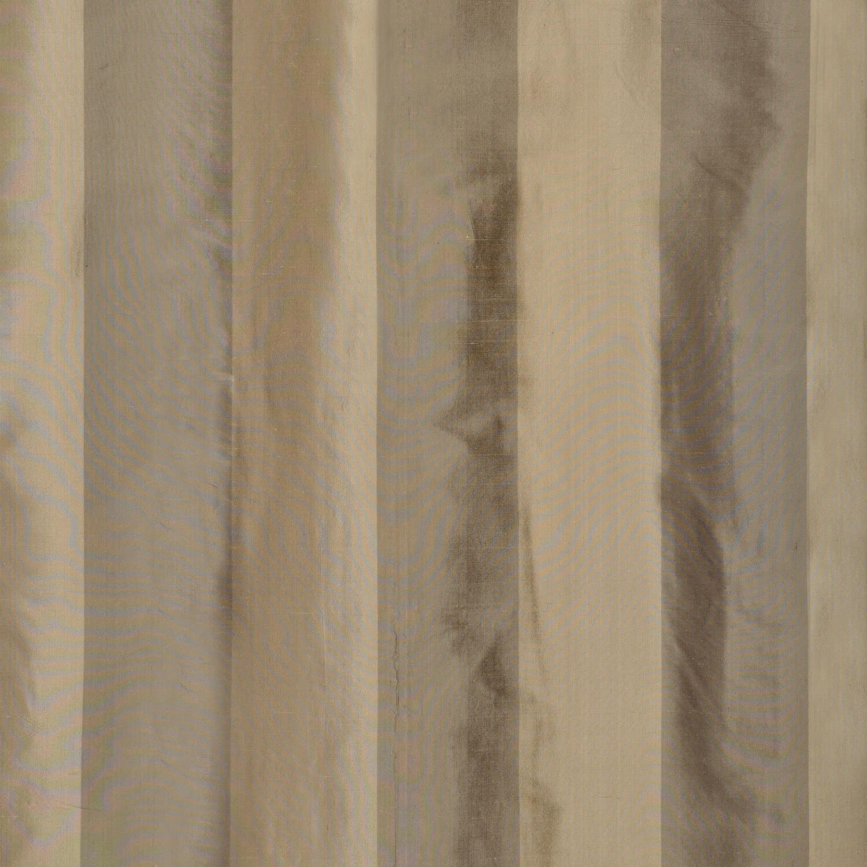 Cairo Haze Silk Stripe Curtains Swatch