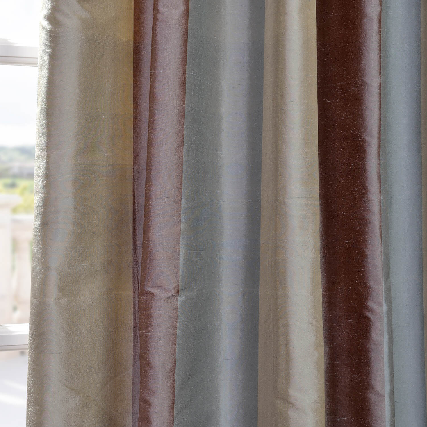 Varadero Silk Stripe Fabric