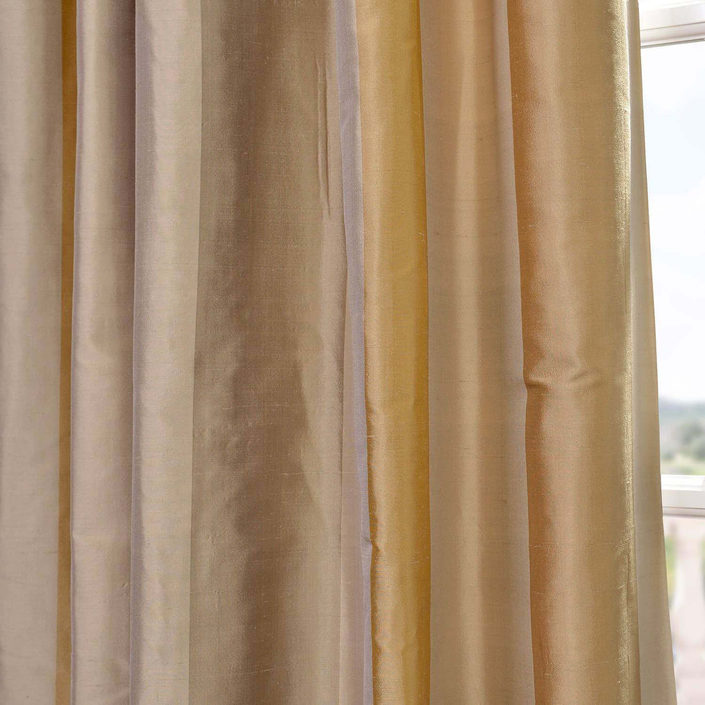 Palm Springs Silk Stripe Fabric
