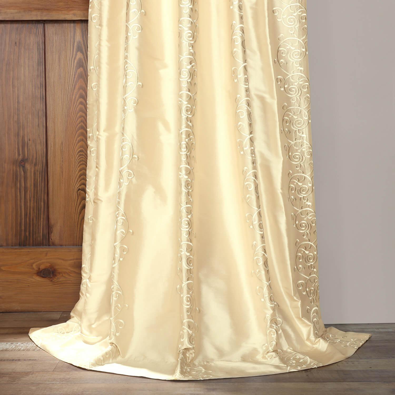 Borrache Pearl Silk Curtain
