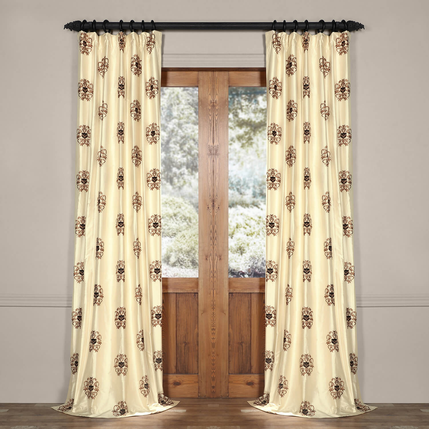 London Silk Curtain