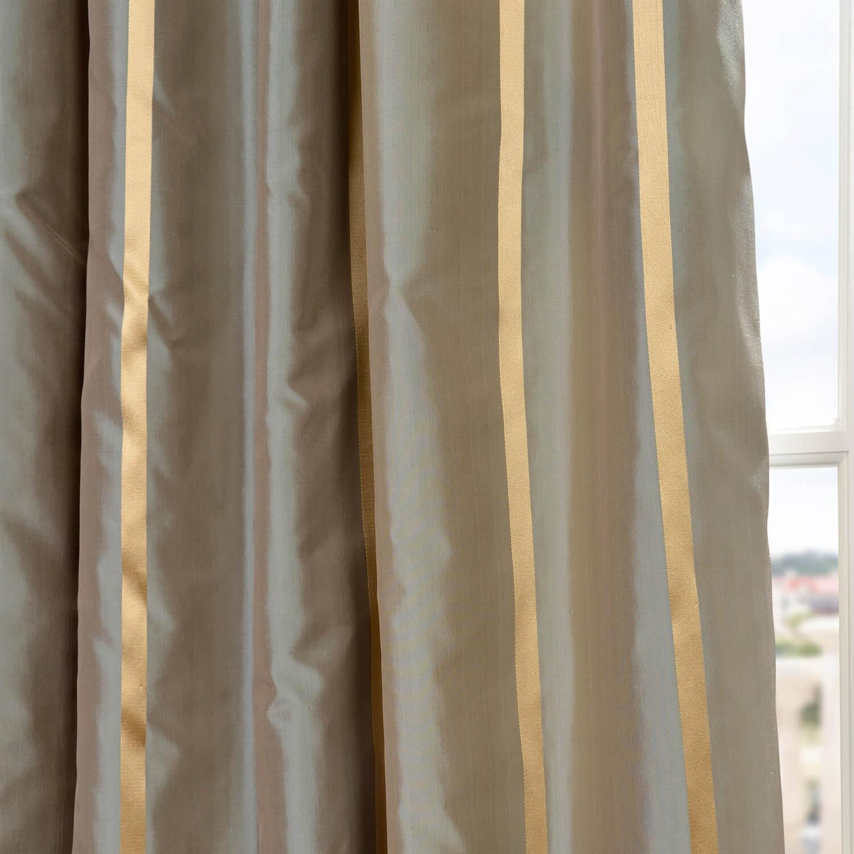 Providence Silk Taffeta Stripe Fabric