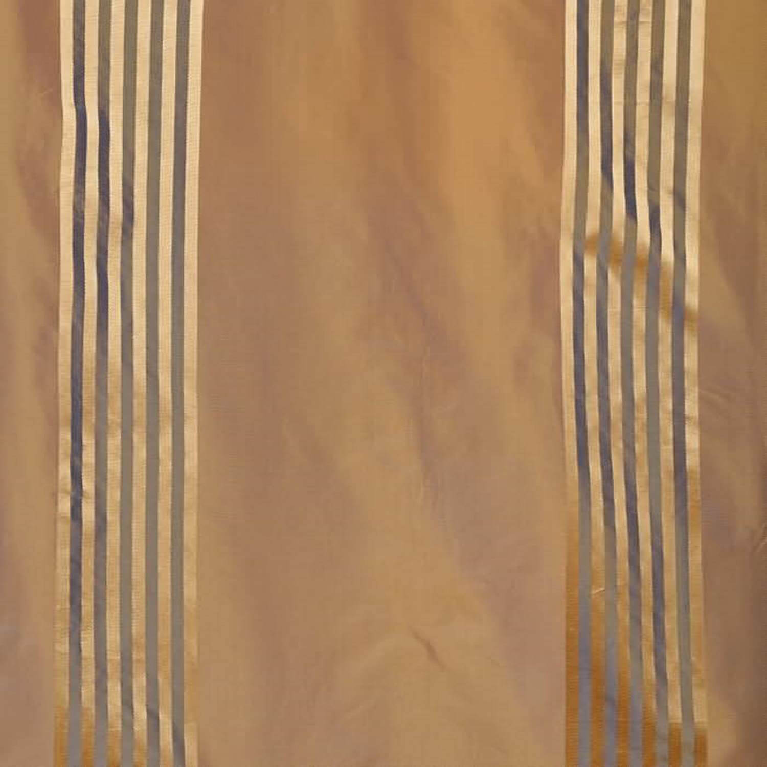 Waterford Gold Silk Stripe Fabric