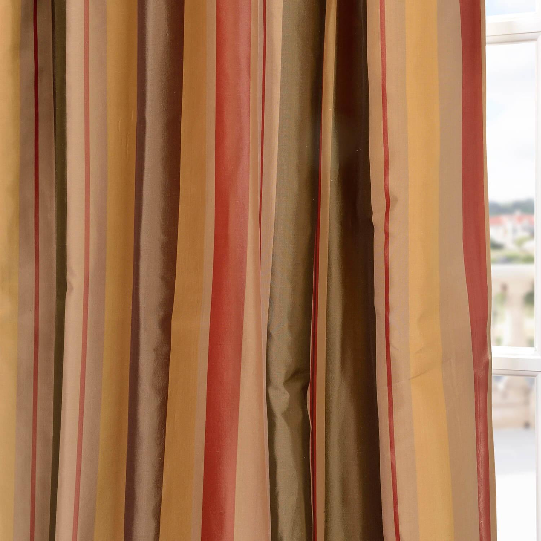 Pacific Heights Silk Stripe Swatch