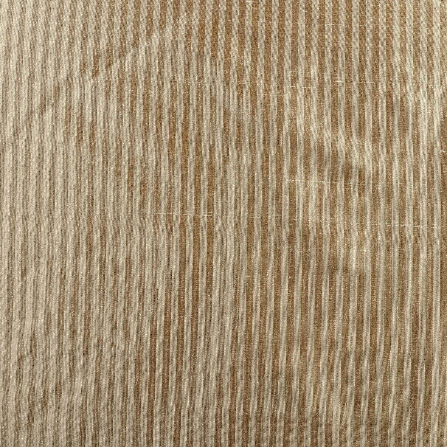 Cambridge Taupe Silk Stripe Fabric