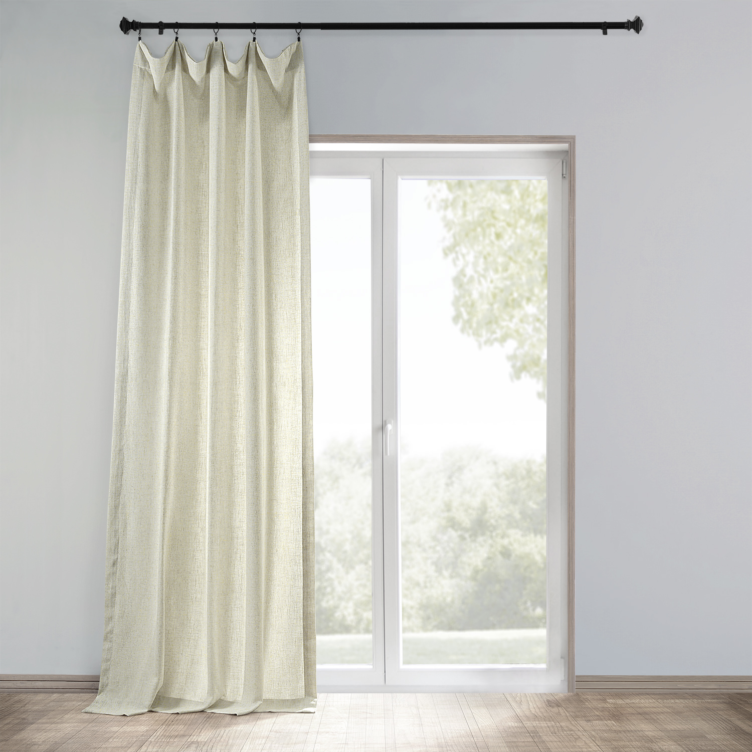 Buy Barley Heavy Faux Linen Curtain Amp Drapes Halfpricedrapes