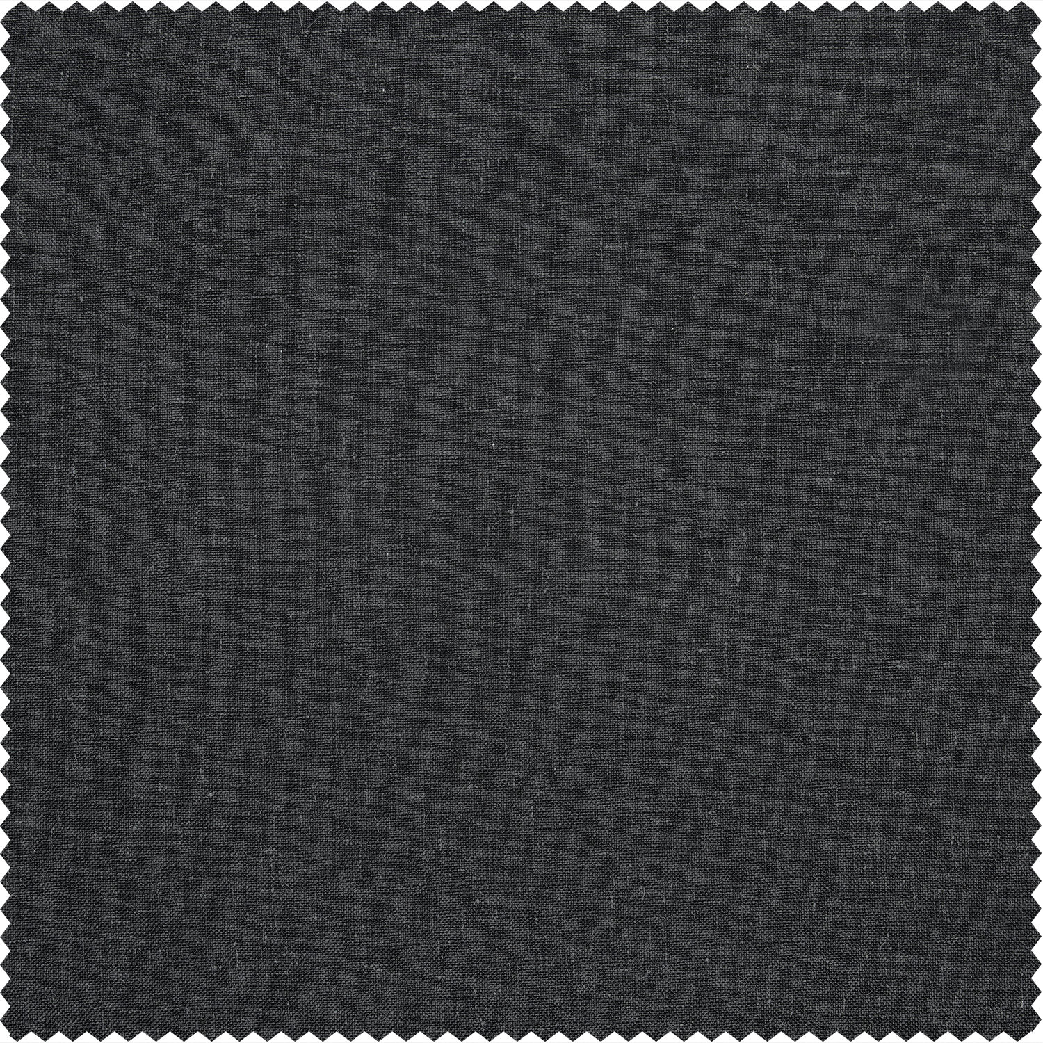 Slate Grey Heavy Faux Linen Swatch