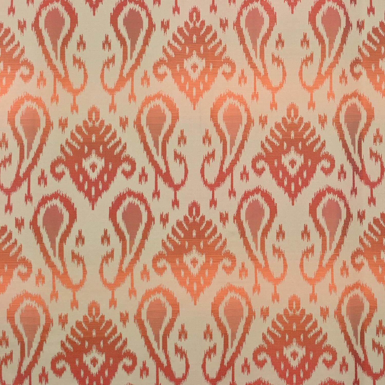 Kauai Coral Faux Silk Jacquard Swatch