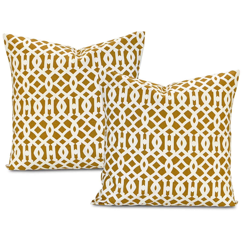 Nairobi Desert Printed Cotton Cushion Cover (Pair)