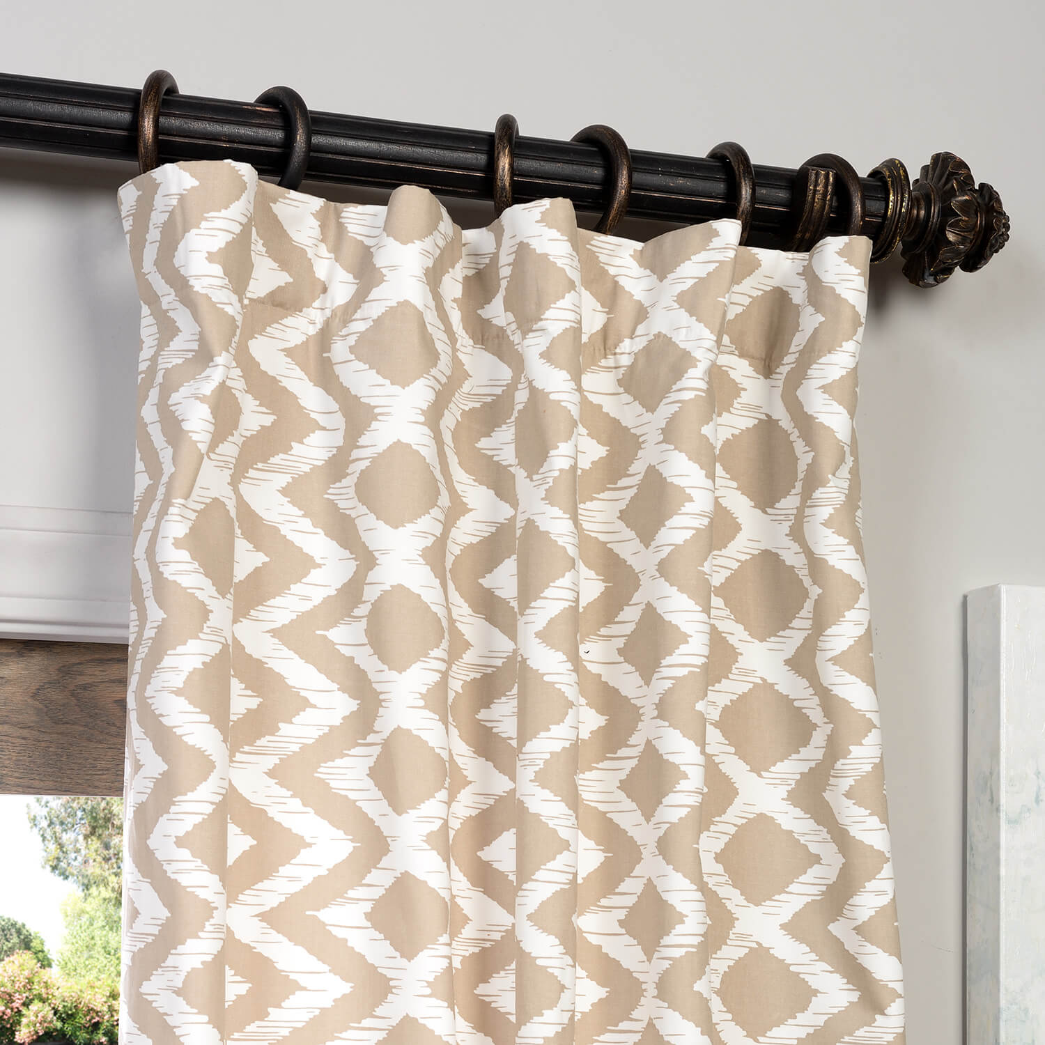 Buy Palu Printed Cotton Curtain Drapes