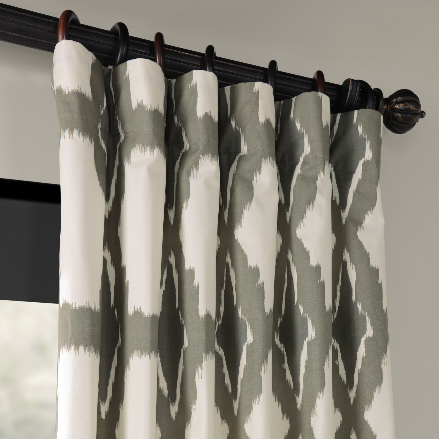 Sorong Printed Cotton Curtain