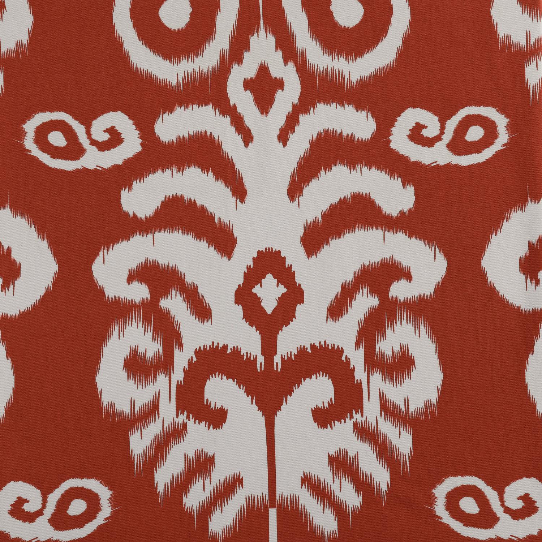 Sri Lanka Rust Printed Cotton Twill Fabric