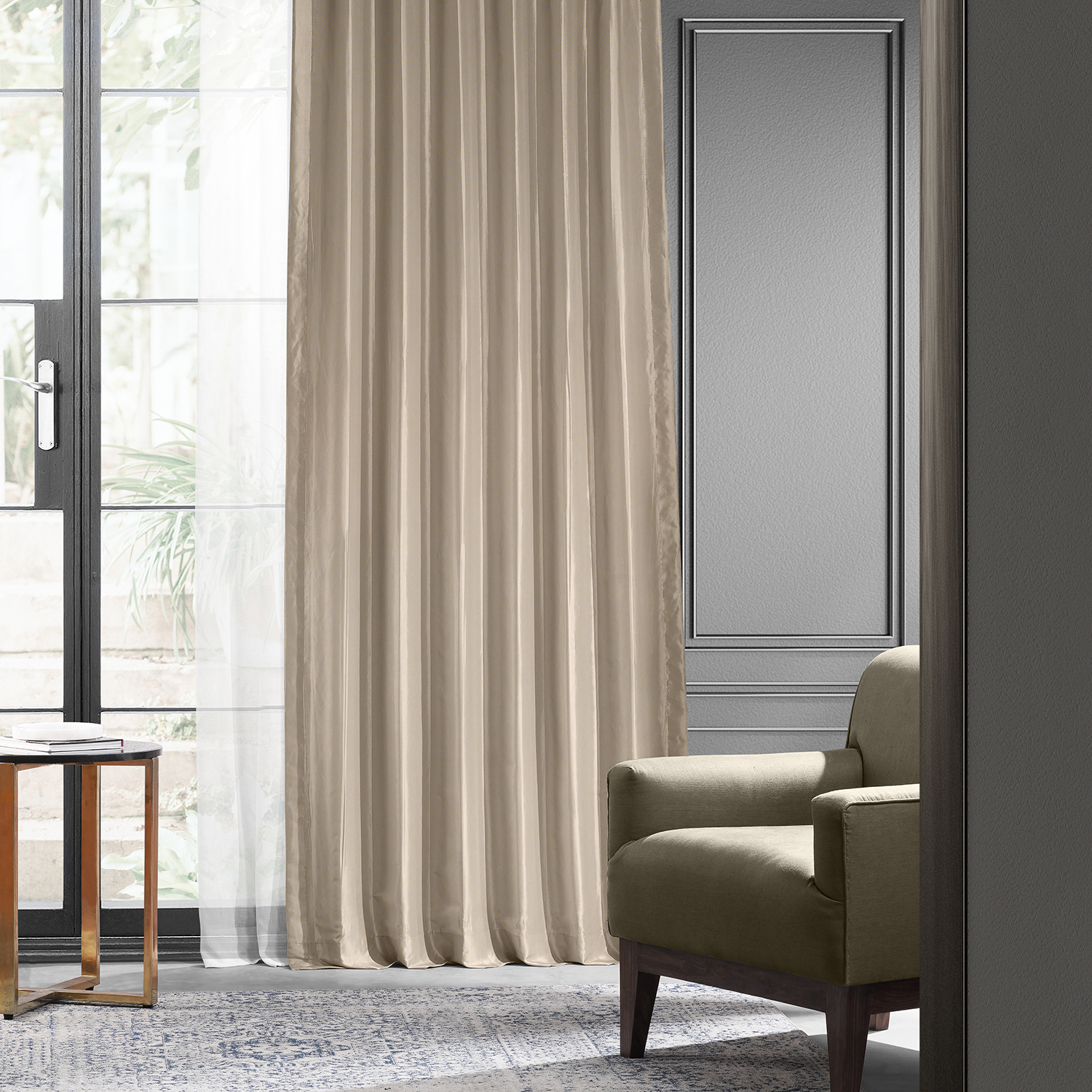 pertaining orange curtain best to curtains of ideas image silk
