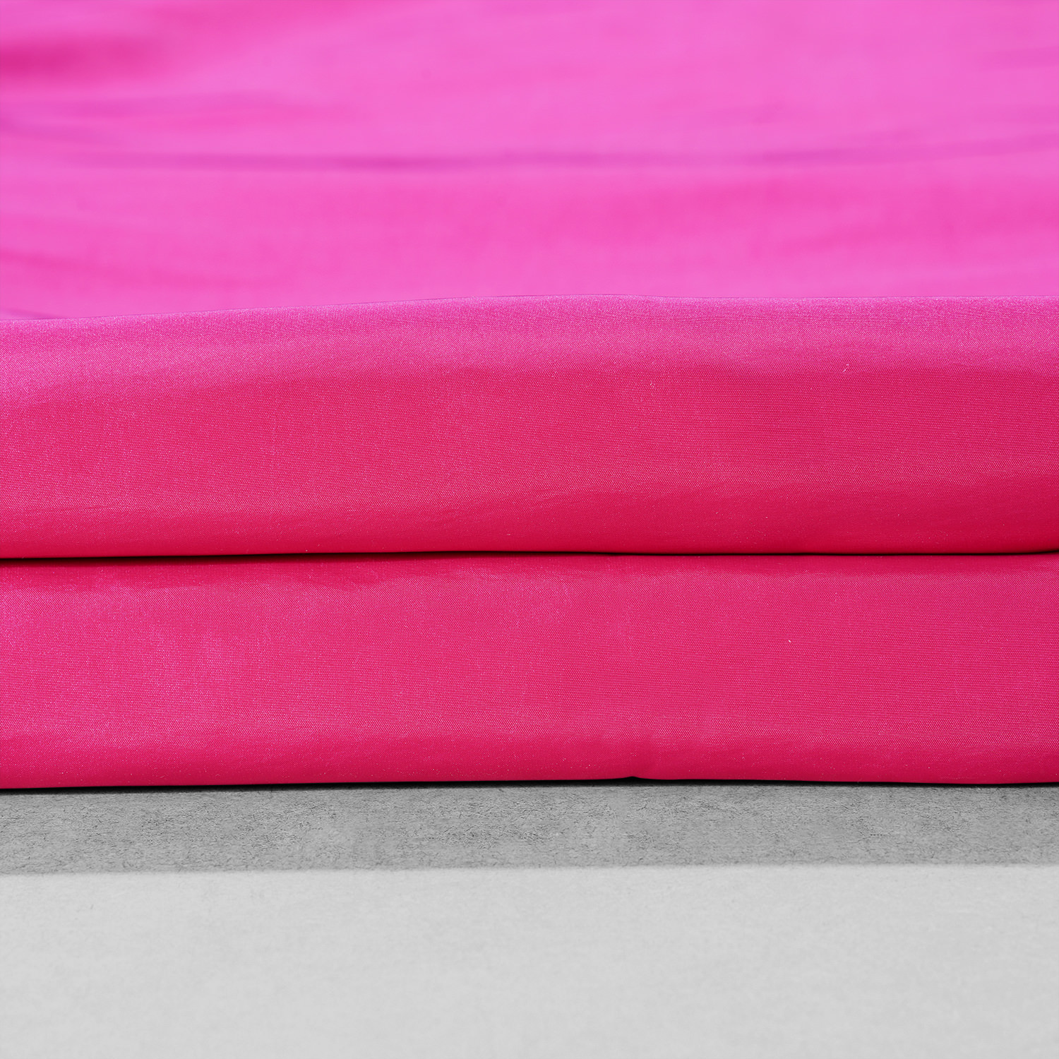 Fuchsia Rose Faux Silk Taffeta Fabric