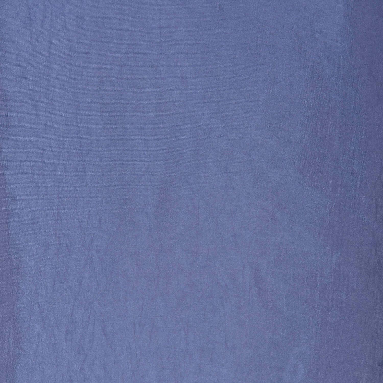 Wisteria Blue Faux Silk Taffeta Swatch