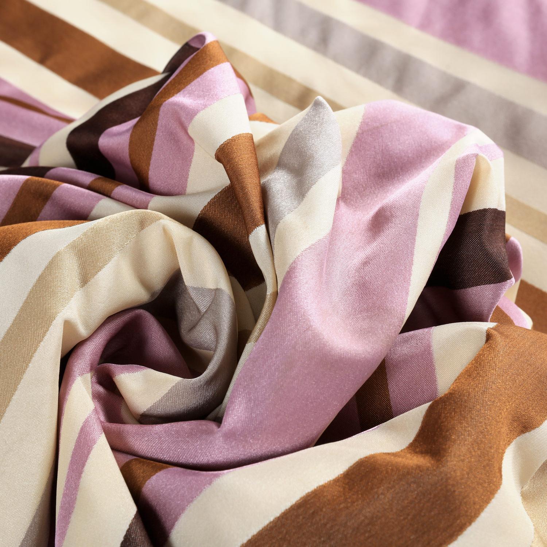 Milton Luxury Faux Silk Stripe Swatch
