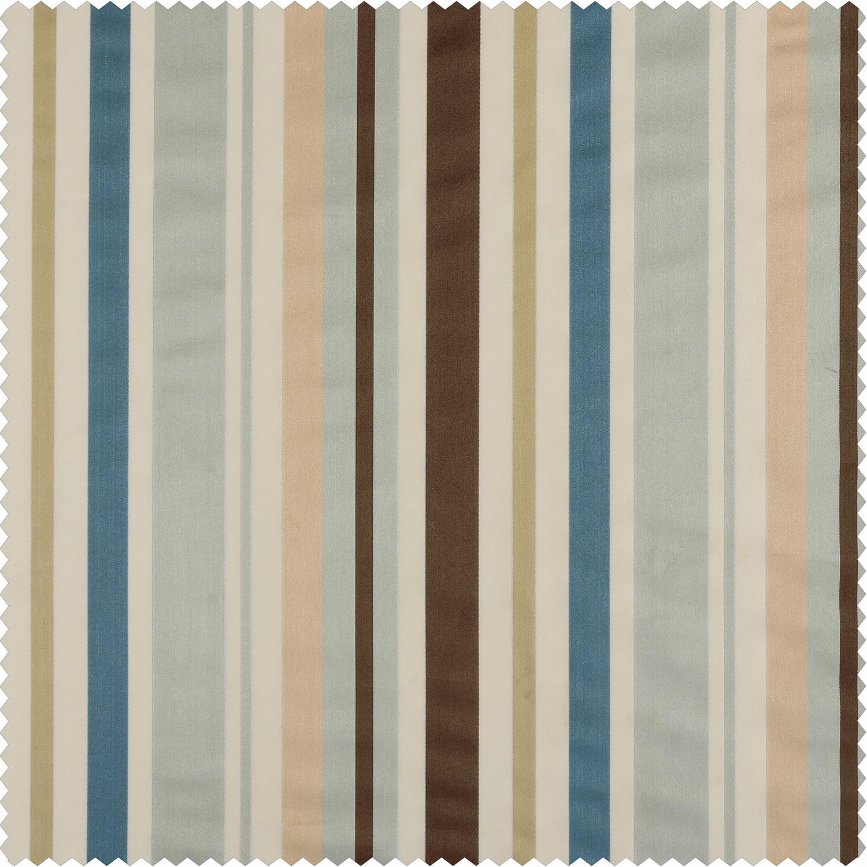 Woodcroft Luxury Faux Silk Stripe Swatch