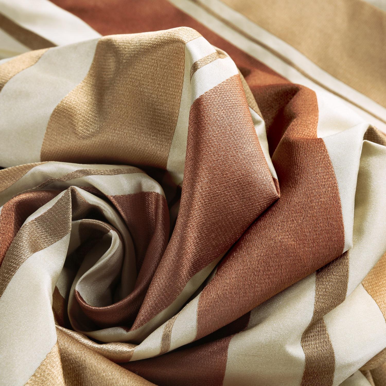 Oakmere Luxury Faux Silk Stripe Swatch
