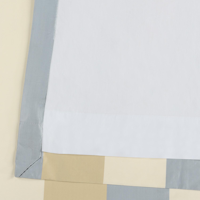 Walcot Faux Silk Stripe Curtain