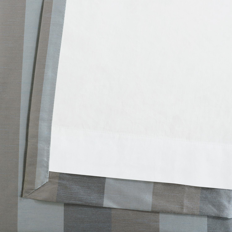 Eaton Luxury Faux Silk Stripe Curtain