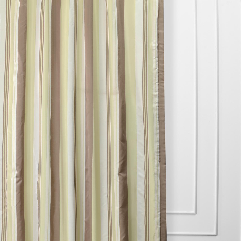 Cardiff Luxury Faux Silk Stripe Curtain