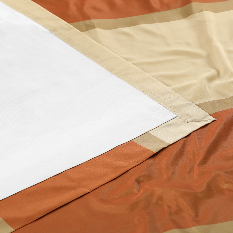 Dorset Luxury Faux Silk Stripe Curtain