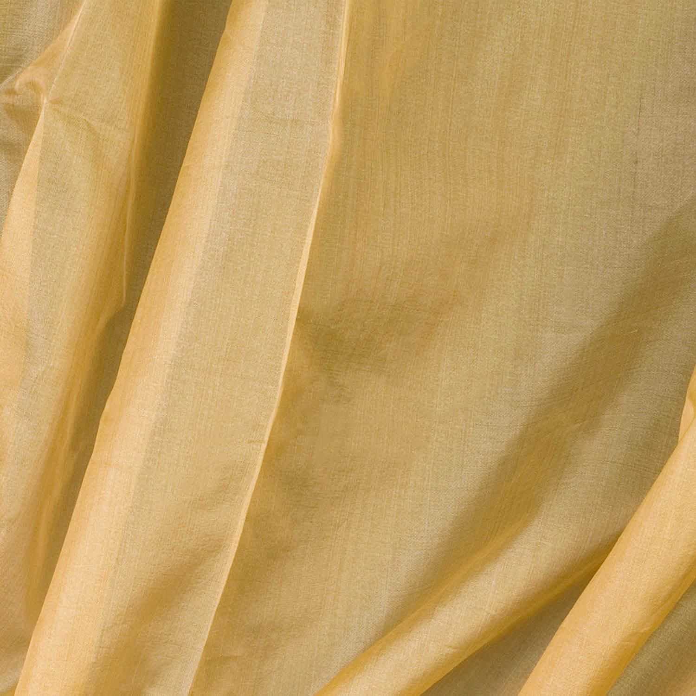Ivory Silk Organza Sheer Swatch