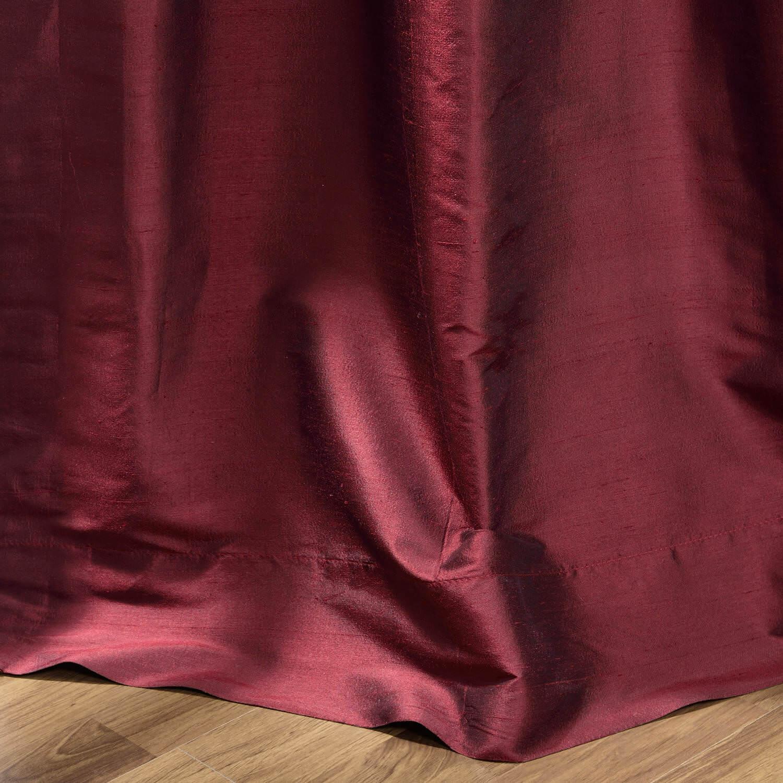 Merlot Thai Silk Curtain