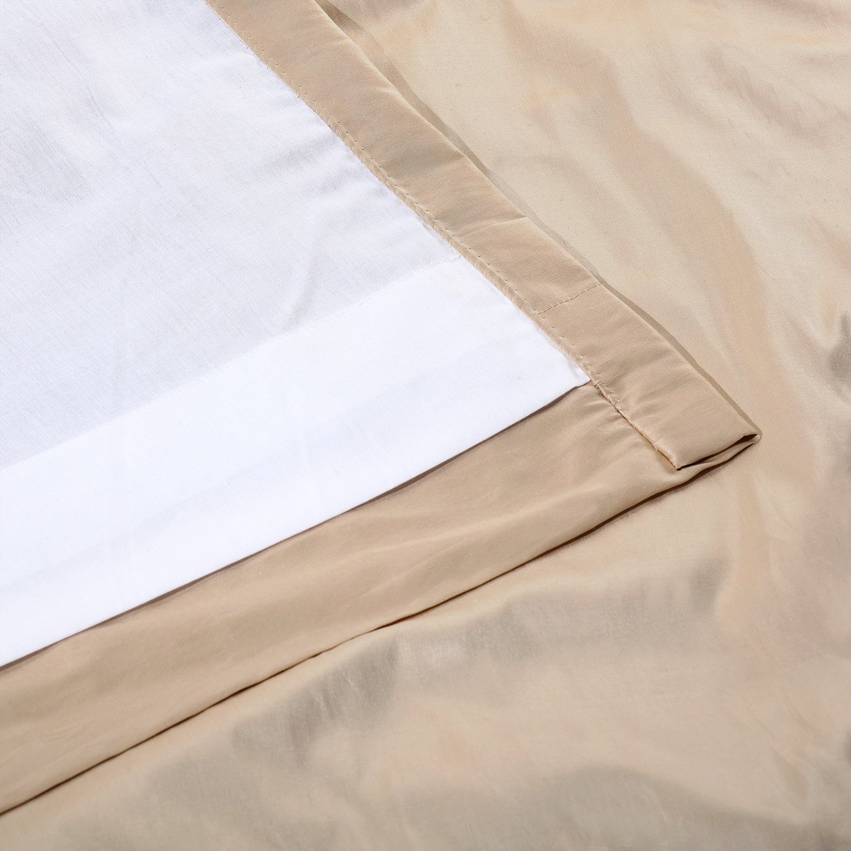 Pearl White Thai Silk Swatch