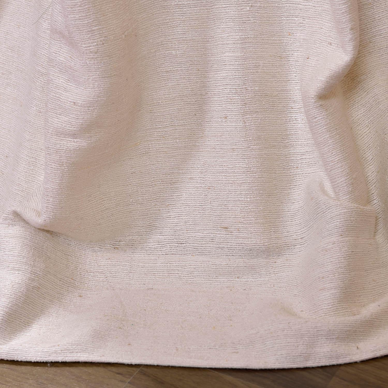Coconut Raw Silk Curtain