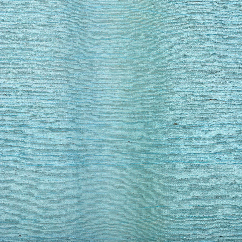 Cabo Mist Raw Silk Curtain