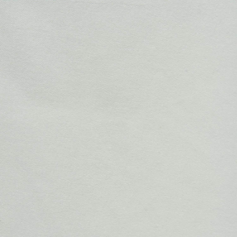 White Vintage Cotton Velvet Fabric