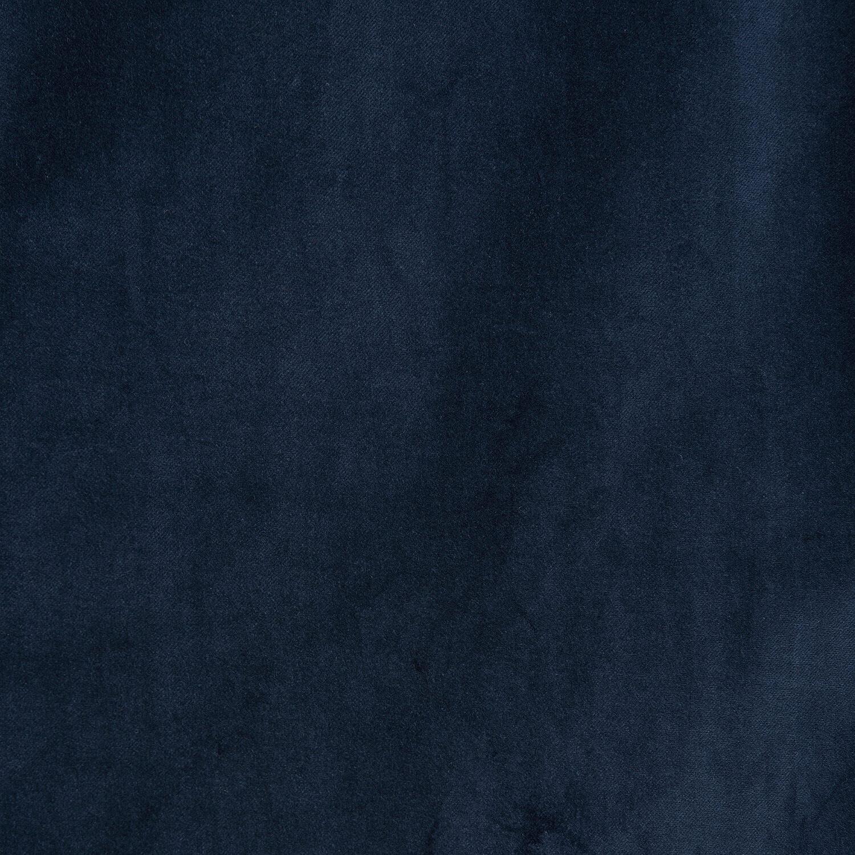 Navy Vintage Cotton Velvet Swatch