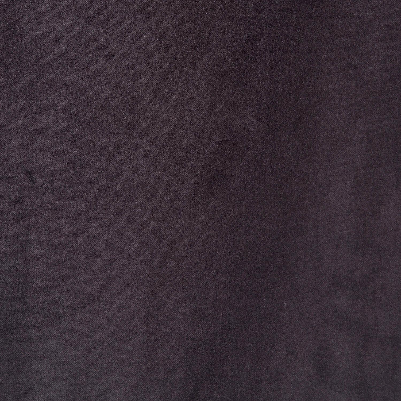 Charcoal Vintage Cotton Velvet Fabric