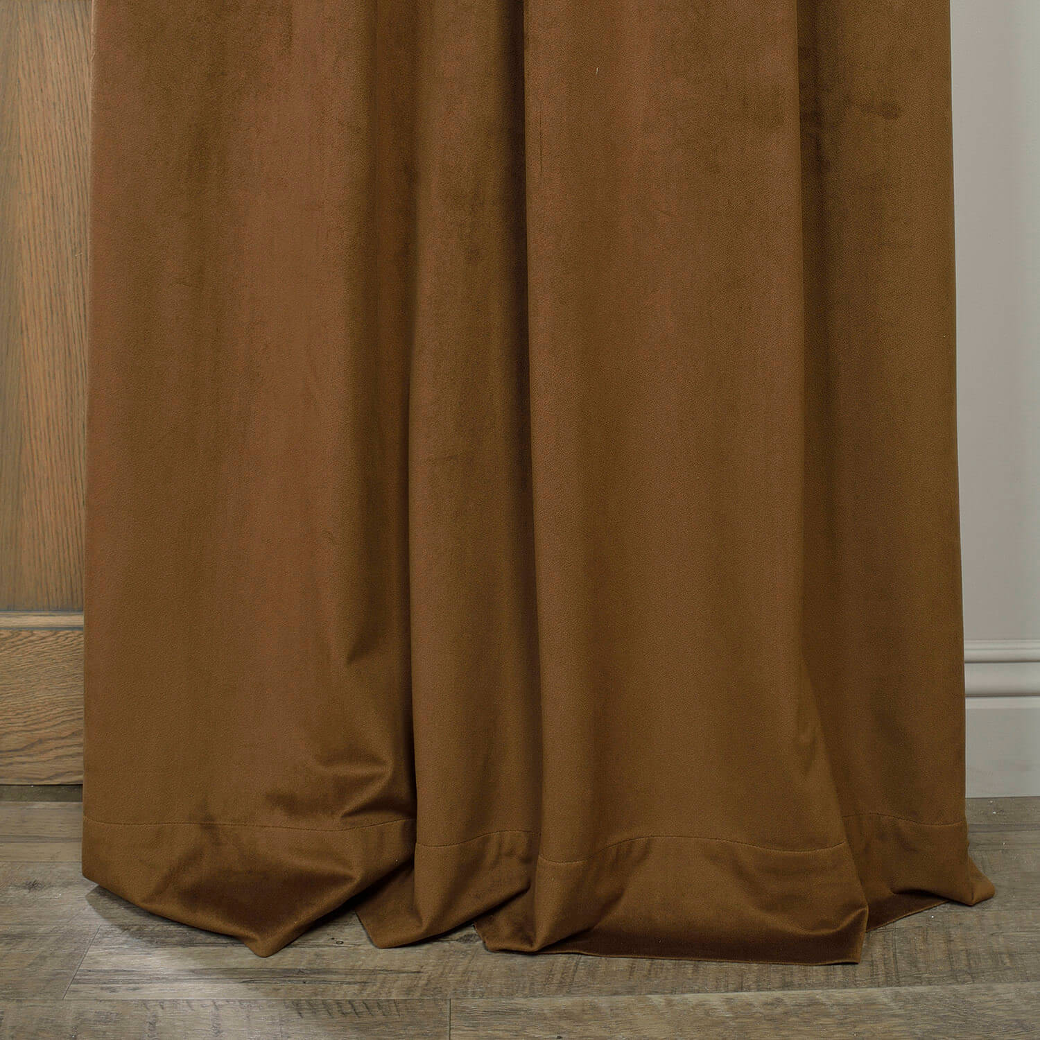 Signature Sable Grommet Blackout Velvet Curtain