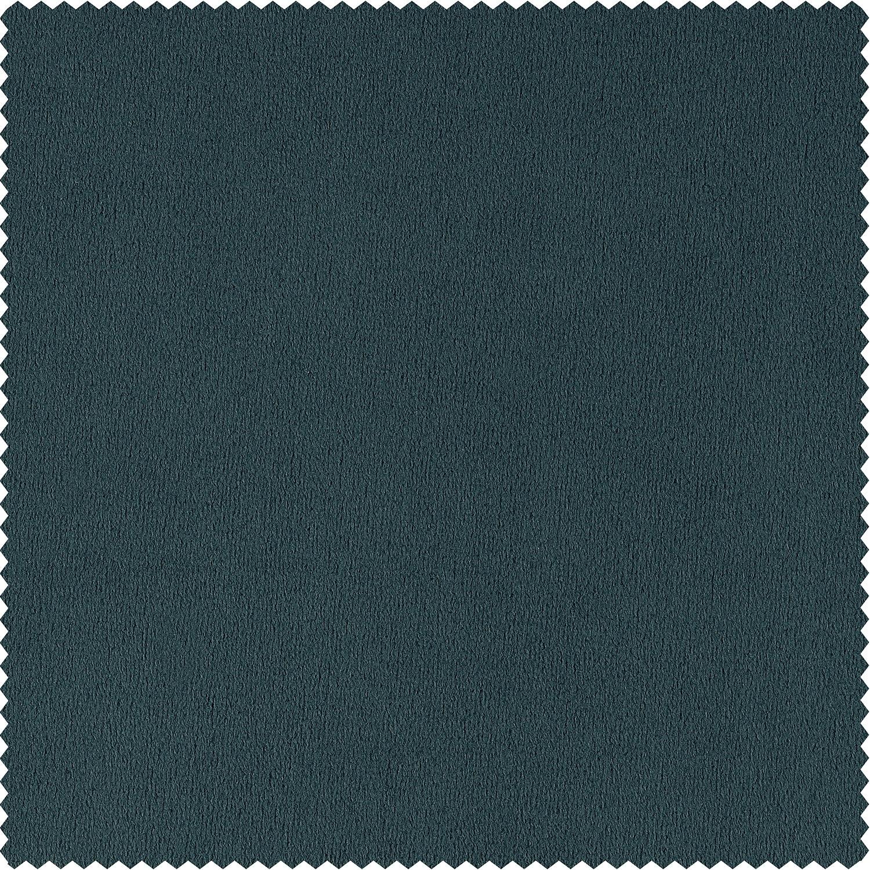 Signature Everglade Teal Velvet Fabric