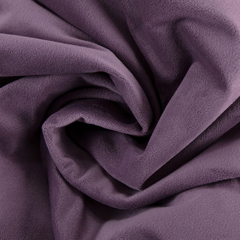 Signature Fresh Violet Velvet Fabric