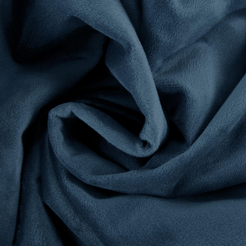 Signature Twilight Blue Velvet Fabric