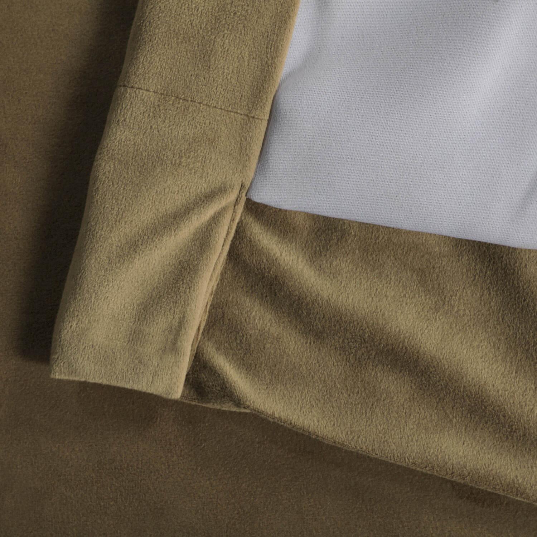 Signature New Fawn Blackout Velvet Curtain